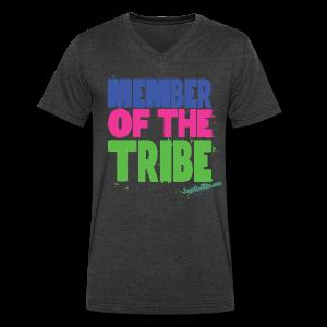 Tribe - V Neck Men's - Men's V-Neck T-Shirt by Canvas