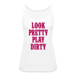 pretty - Women's Premium Tank Top