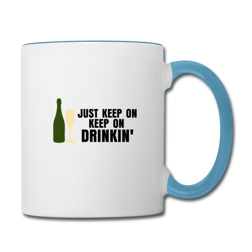 Champagne Problems Mug - Contrast Coffee Mug