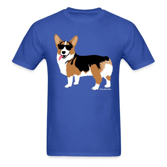 c8deaf85fc54 Men s Giant Corgi T-Shirt (no text)