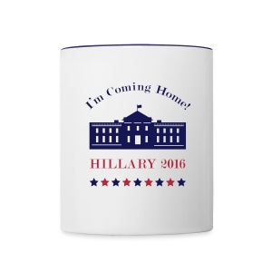 Hillary - I'm Coming Home (Mug) - Contrast Coffee Mug
