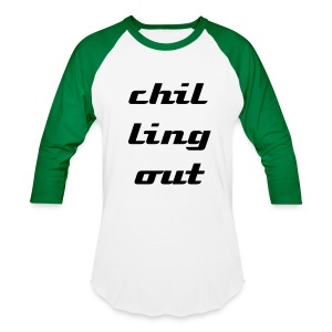 chilling - Baseball T-Shirt