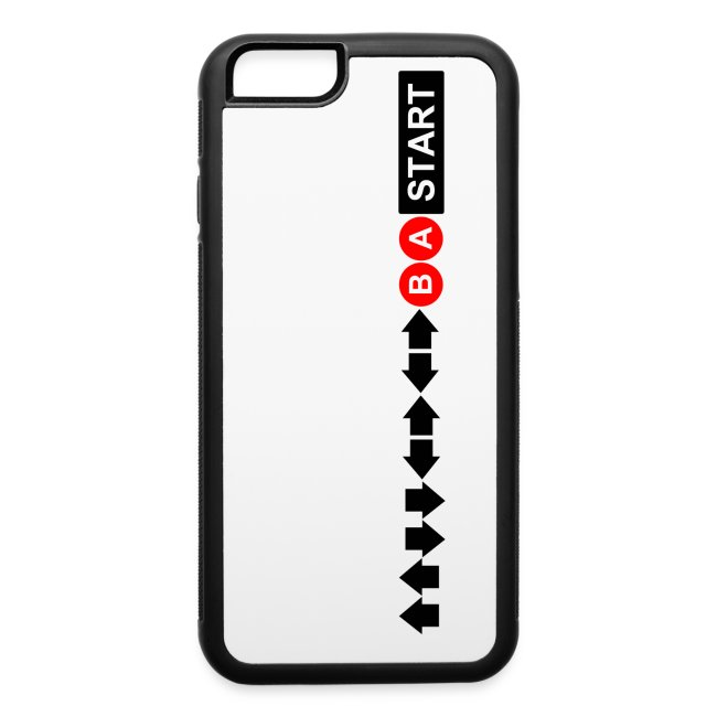 Contra Code iPhone 6/6s Rubber Case