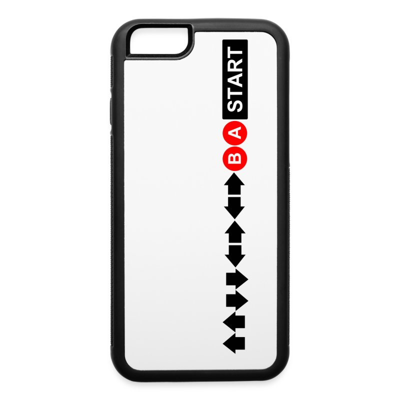 Contra Code iPhone 6/6s Rubber Case - iPhone 6/6s Rubber Case
