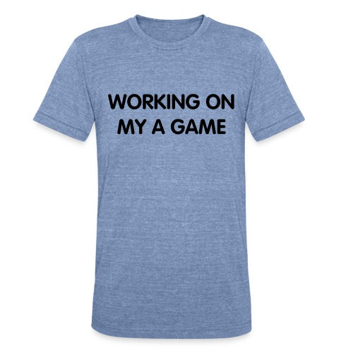 WORKING - Unisex Tri-Blend T-Shirt