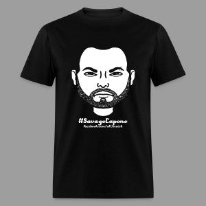 Savage Capone Bitstrip Shirt - Men's T-Shirt