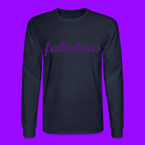 fabulous - Men's Long Sleeve T-Shirt