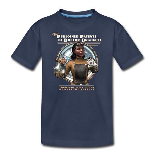 Purloined Patents of Doctor Brackett Kids Tee - Kids' Premium T-Shirt