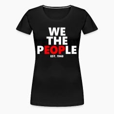 We The People EOP UALBANY COLLEGE Women's T-Shirts