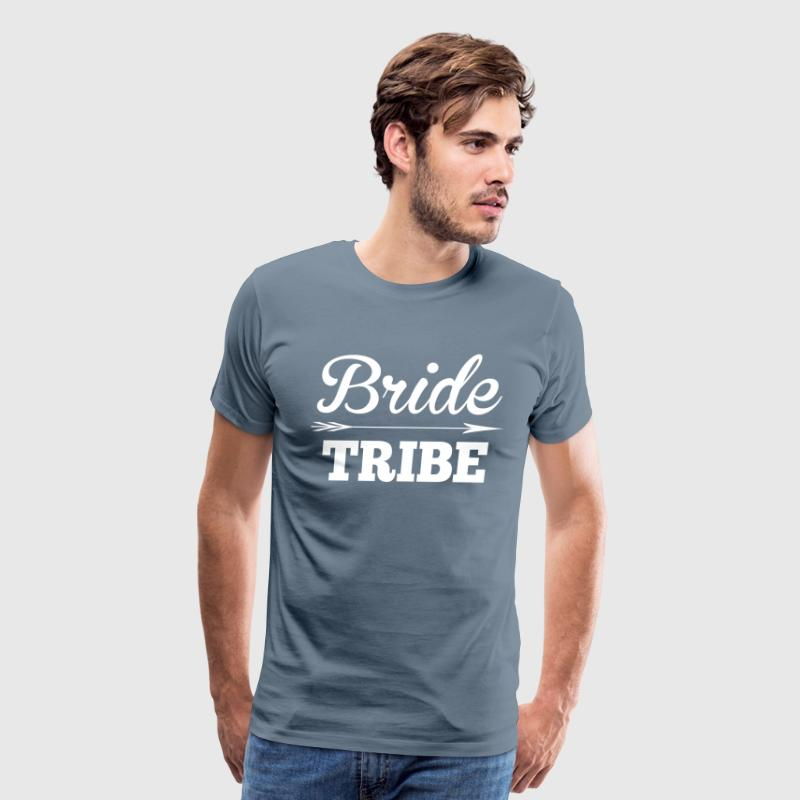 Bride Tribe BridesMaid Groom Wedding T-Shirts - Men's Premium T-Shirt