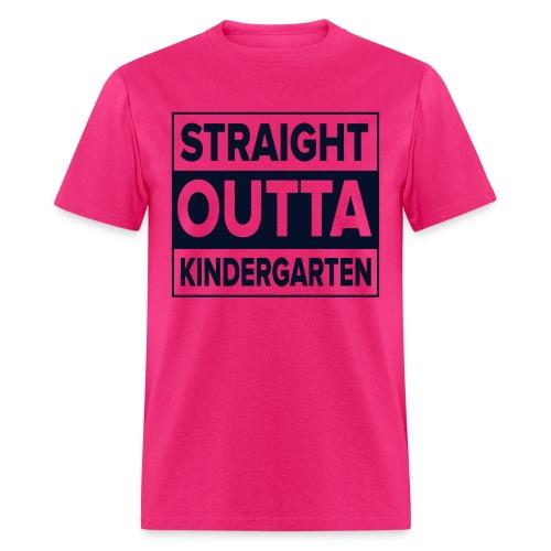 MENs Straight Outta K BLACK GLITTER - Men's T-Shirt