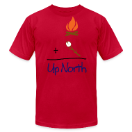 T-Shirts ~ Men's T-Shirt by American Apparel ~ Up North Math