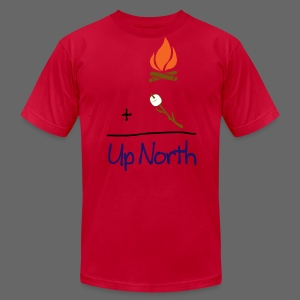 Up North Math - Men's T-Shirt by American Apparel