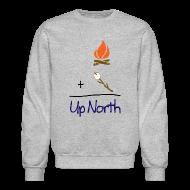 Long Sleeve Shirts ~ Crewneck Sweatshirt ~ Up North Math