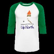 T-Shirts ~ Men's Baseball T-Shirt ~ Up North Math
