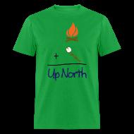 T-Shirts ~ Men's T-Shirt ~ Up North Math