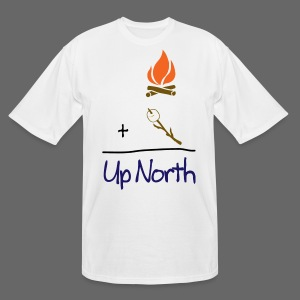 Up North Math - Men's Tall T-Shirt