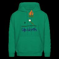 Hoodies ~ Men's Hoodie ~ Up North Math