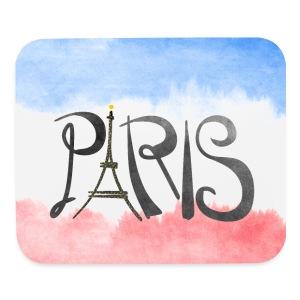 Paris Logo Mouse Pad - Mouse pad Horizontal