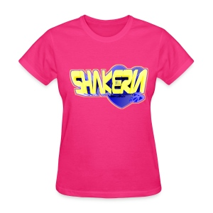 Blox3dnyc.com Heart2 design for Shakeria - Women's T-Shirt