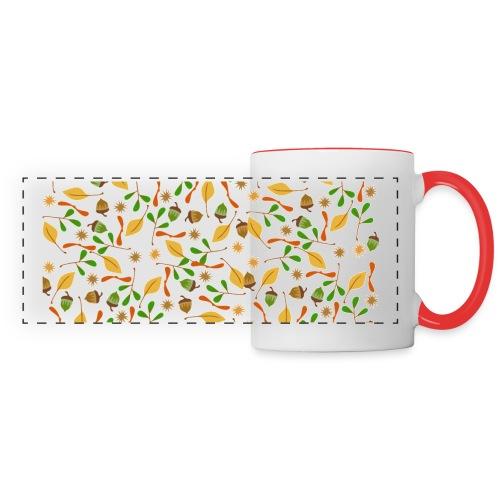 Autumn Pattern - Panoramic Mug