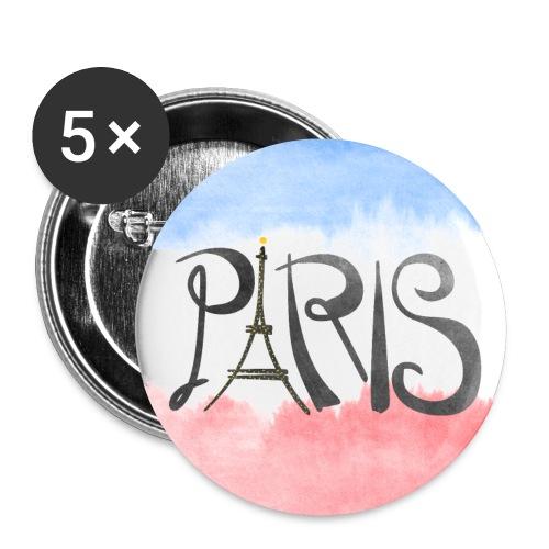 Paris Logo Button - Small Buttons
