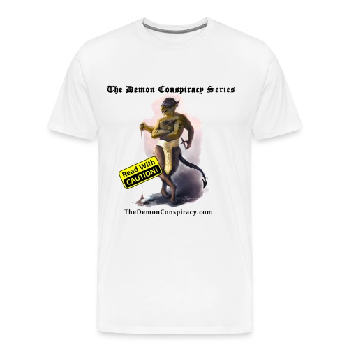Men's 100% Cotton T-shirt - White - Men's Premium T-Shirt