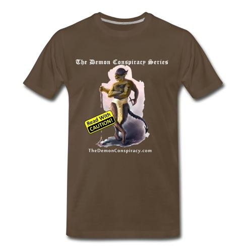 Men's 100% Cotton T-shirt - Noble Brown - Men's Premium T-Shirt