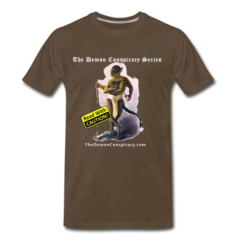 Men's 100% Cotton T-shirt - Noble Brown - Men's Premium T-Shirt