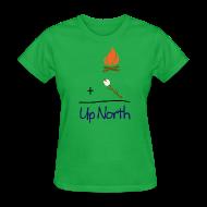 Women's T-Shirts ~ Women's T-Shirt ~ Up North Math