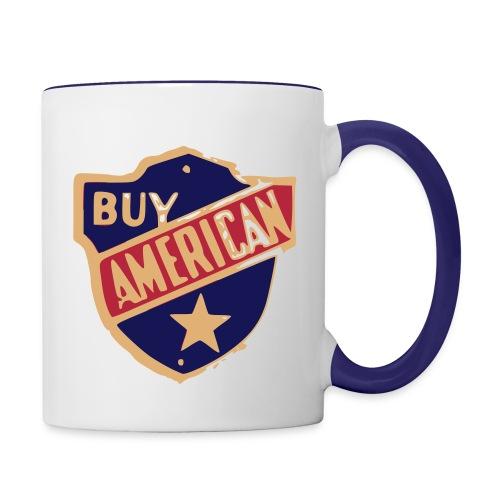Buy American Designer Mug - Contrast Coffee Mug