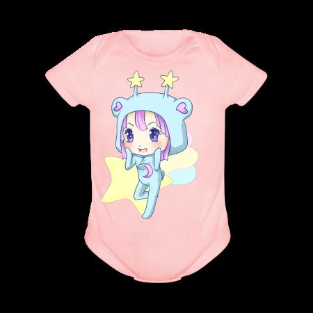 Trixie-Chan - Short Sleeve Baby Bodysuit