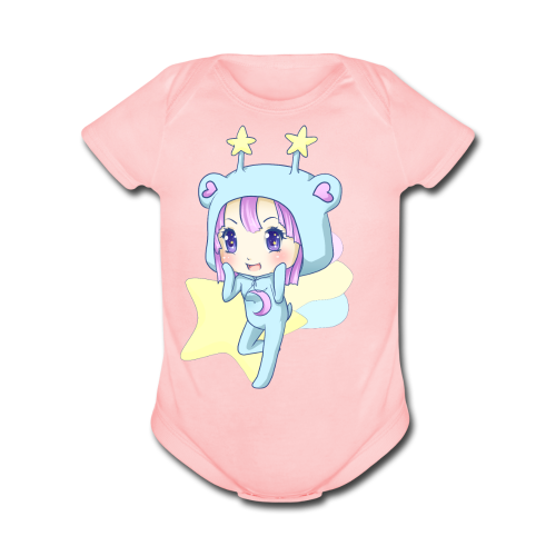 Trixie-Chan - Organic Short Sleeve Baby Bodysuit