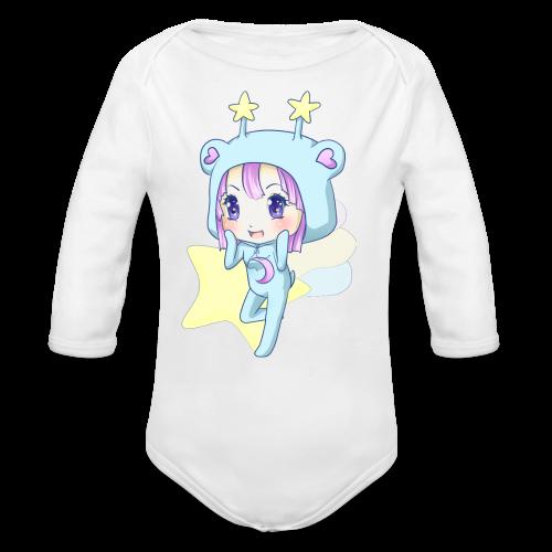 Trixie-Chan - Organic Long Sleeve Baby Bodysuit