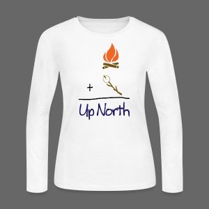 Up North Math - Women's Long Sleeve Jersey T-Shirt
