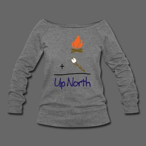 Up North Math - Women's Wideneck Sweatshirt