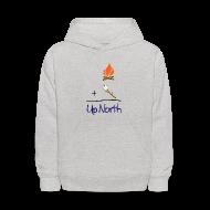 Sweatshirts ~ Kids' Hoodie ~ Up North Math