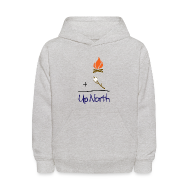 Sweatshirts ~ Kids' Hoodie ~ Up North Math