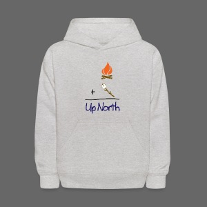 Up North Math - Kids' Hoodie