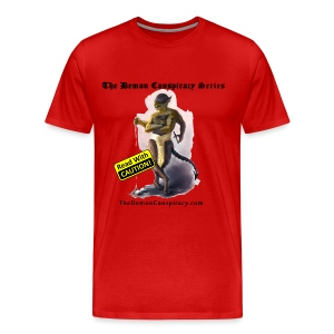 Big & Tall Men's 100% Cotton T-shirt - Red - Men's Premium T-Shirt