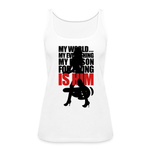 him - Women's Premium Tank Top