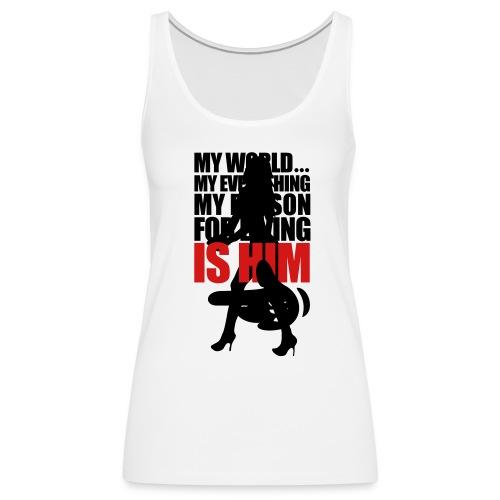 him - Women's Premium Tank Top