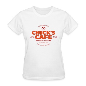 Chuck's Cafe - Women's T-Shirt