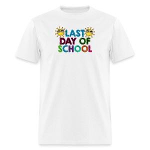Last day of school MEN's - Men's T-Shirt