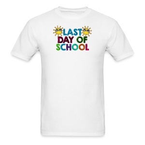 Last day of school MEN's - Men's T-Shirt