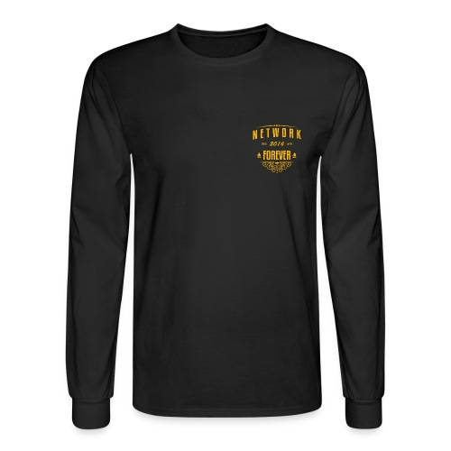Entitled Network Long Sleeve Tee - Men's Long Sleeve T-Shirt