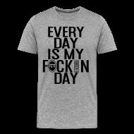 T-Shirts ~ Men's Premium T-Shirt ~ No Days off tee (Men)