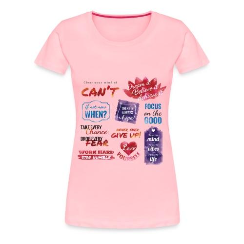 Women's Premium T-Shirt - Front Design ONLY! - Women's Premium T-Shirt