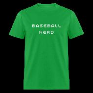 T-Shirts ~ Men's T-Shirt ~ Baseball Nerd