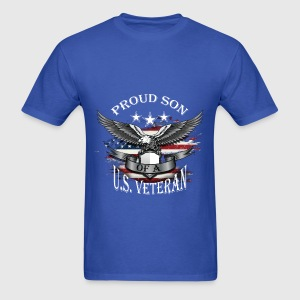 Son of A Veteran - Proud - Men's T-Shirt